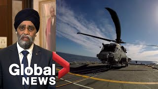 Sajjan calls Canadian military helicopter crash 'gut-wrenching', says they'll get 'all the answers'