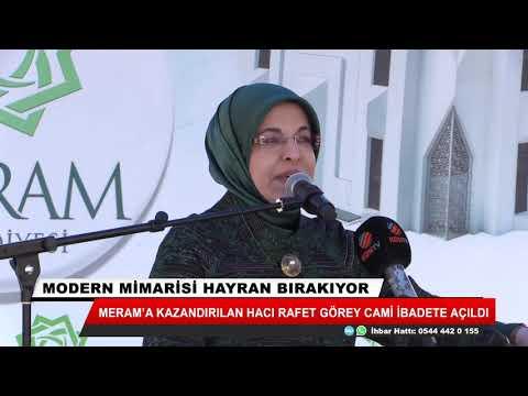 Hacı Rafet Görey Camii açıldı