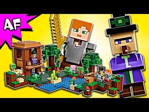 Vidéo LEGO Minecraft 21133 : La cabane de la sorcière