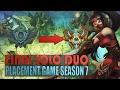 FINAL SEASON 7 PLACEMENT GAME - League of Legends (Akali S7)