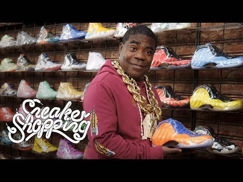 94bb66005b18 Tracy Morgan Goes Sneaker Shopping With Complex - Complex - imclips.net