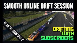 GT Sport: Smooth Online Drift Session | Drifting With Subscribers