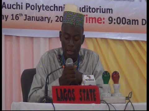 2015 Nigerian Musabaqa: Lagos Tangeem. Male Participant