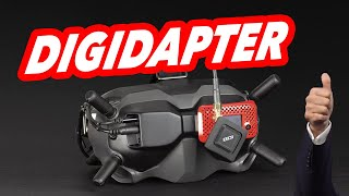 DIGIDAPTER - Plug & Play Analog Adapter For The DJI Digital FPV System