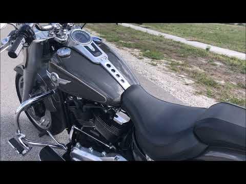 2018 Harley-Davidson Fat Boy®107 in Pompano Beach, Florida