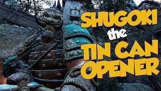 Shugoki the Tin Can Opener feat. Raider - For Honor
