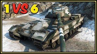 FV215b - 10 Kills - 1 VS 6 - World of Tanks Gameplay