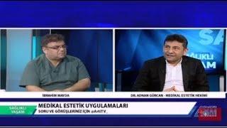 Sağlıklı Yaşam- İbrahim Mayda Konuk-Dr. Adnan Gürcan-Medikal Estetik 24 Şubat 2019