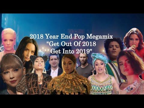 2018 Year End Megamix (100+ Pop Songs Mashup)