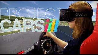 Обзор игры Project CARS с Oculus Rift в Virtuality Club