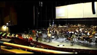 Andrea Molino: CREDO at the Badisches Staatstheater Karlsruhe 2004 - backstage video