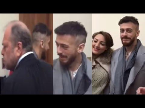 أول فيديو لسعد المجرد من داخل المحكمة بباريس ورد فعل المحامي