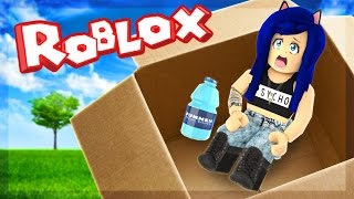 MAILED MYSELF IN A BOX CHALLENGE IN ROBLOX!