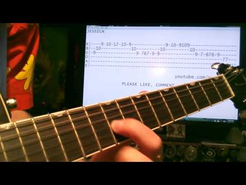 Guitar lessons online Allman Brothers Jessica tab