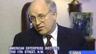 1994 Clip of a C-SPAN Interview with Dick Cheney