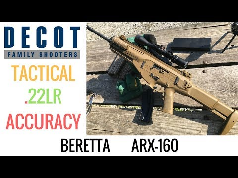 ARX-160 Accuracy Test | .22LR