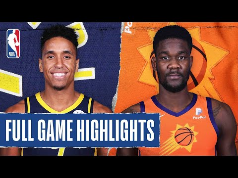 PACERS at SUNS FULL GAME HIGHLIGHTS | August 6, 2020