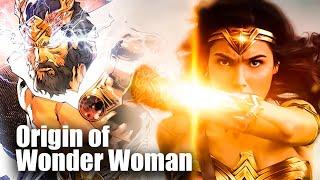 Origin of Wonder Woman - Zeus Daughter???