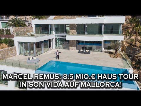 Marcel Remus: 8.5 Mio.€ Haus Tour in Son Vida auf Mallorca!