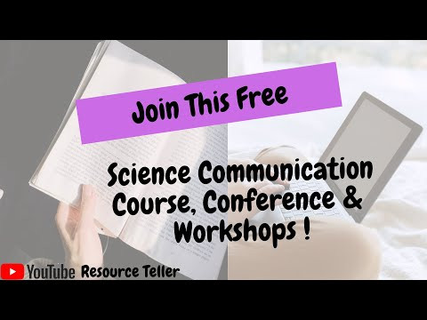 Upcoming Free Courses, Conference, Workshops on Science ...