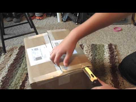 Unboxing 4500 PSI Ninja Air Tank PAINTBALL