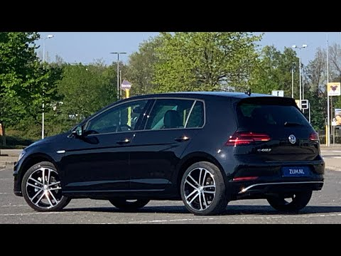 Volkswagen NEW e-Golf (7) 2020 in 4K Deep Black  Pearl 18 inch Nogaro walk around & detail inside