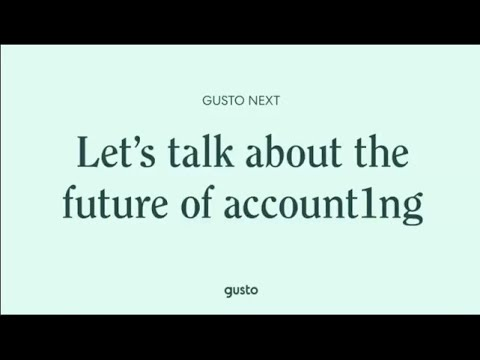 Gusto Next, the live event for accountants