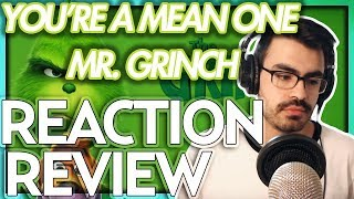 "Tyler The Creator   ""You're A Mean One, Mr Grinch"" The Grinch (2018) FIRST REACTIONREVIEW"