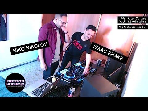 Niko Nikolov b2b Isaac Shake - Electronic Lunh Series - Alter Culture (Techno Music)