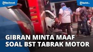 Viral Video BST Tabrak Motor di Flyover Purwosari Solo, Gibran Minta Maaf dan Bakal Lakukan Evaluasi