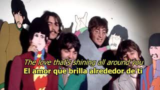 It's all too much - The Beatles (LYRICS/LETRA) [Original]