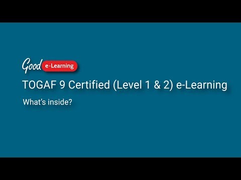 What's covered in TOGAF Certified (Level 1 & 2)? (TOGAF ...