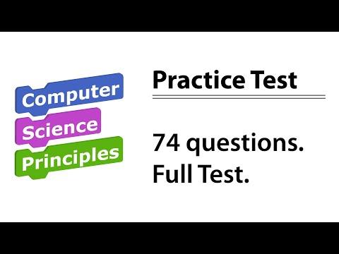 AP CSP Practice Test
