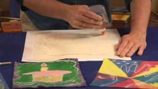 Gambar cover Easy Fabric Batik with Glue - Lesson Plan