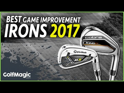 Best golf irons 2017 review | Game Improvement Irons Test | Longest, straightest irons you can buy