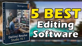 5 Best Video Editing Software in 2020 | Used By Professional Vloggers
