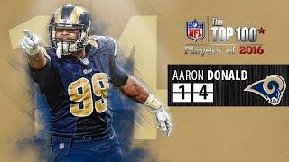 #14: Aaron Donald (DT, Rams) | Top 100 NFL Players of 2016