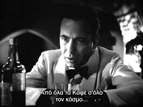 Casablanca (one of the best scenes)