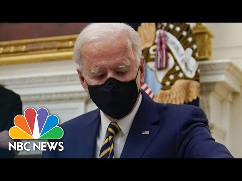 Grassroots Organizers Say Biden Must Do More To Tackle Racial Inequalities | NBC News NOW