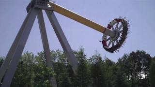 Canada's Wonderland - Psyclone And Drop Tower