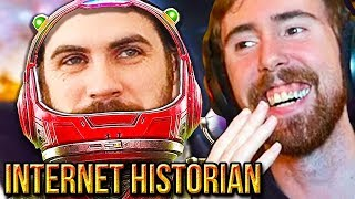 """Asmongold Reacts To """"The Engoodening of No Man's Sky"""" - Internet Historian"""