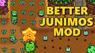 Stardew Valley - Better Junimos Mod