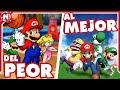 Del Peor Al Mejor: Juegos De Mario En Nintendo Ds