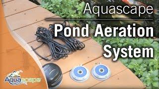 Aquascape's Pond Aeration Systems