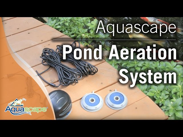 Aquascape's Pond Aeration Systems