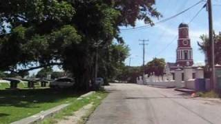 preview picture of video 'Barbados Bicycle cam # 11 [Garrison Savannah]'