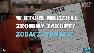 Kalendarz Zakazu Handlu W Niedziele - Kiedy Nie Zrobimy Zakupów? | Onet100