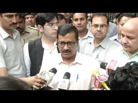 Delhi CM Arvind Kejriwal Briefs after Meeting the CEC on Delhi Voter's Deletion Scam