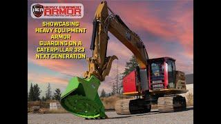 Heavy Equipment Armor Caterpillar 323 Next Generation Walk-through