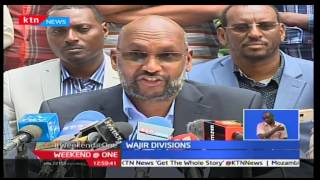 Selected Wajir leaders withdraw their support for Governor Ahmed Abdullahi